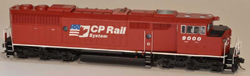 Bowser SO HO GMD SD40-2F CP Dual Flag #9000 Re-Issue