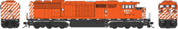 Bowser HO GMD SD40-2f CM&Q Red 9014