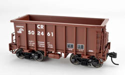 Bowser HO G-39a w/Friction Trucks Conrail  #502855