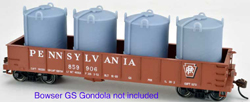 English's Model Railroad HO LCL Container - Cement  - 2 pcs