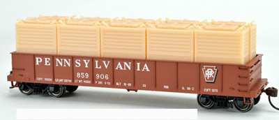 English's Model Railroad N LCL Container, PRR HB4   (2 pcs)