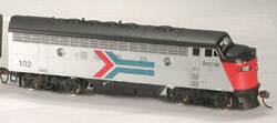 Bowser HO Pwr F7 A PH1 EARLY DBL HDL  AMTRAK 5613